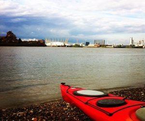 Thames Barrier Kayak Trip