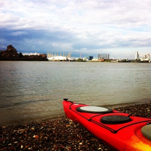 Thames Barrier Kayak Trip